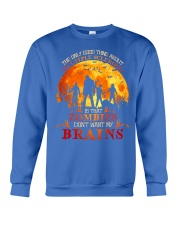 Multiple Sclerosis Halloween Crewneck Sweatshirt thumbnail