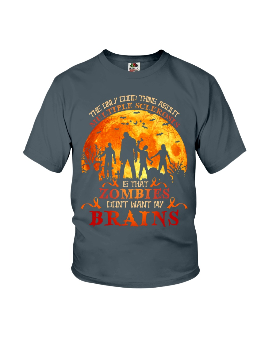 Multiple Sclerosis Halloween Youth T-Shirt