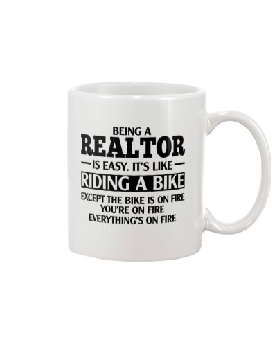 Being a realtor is easy-It's like riding a bike
