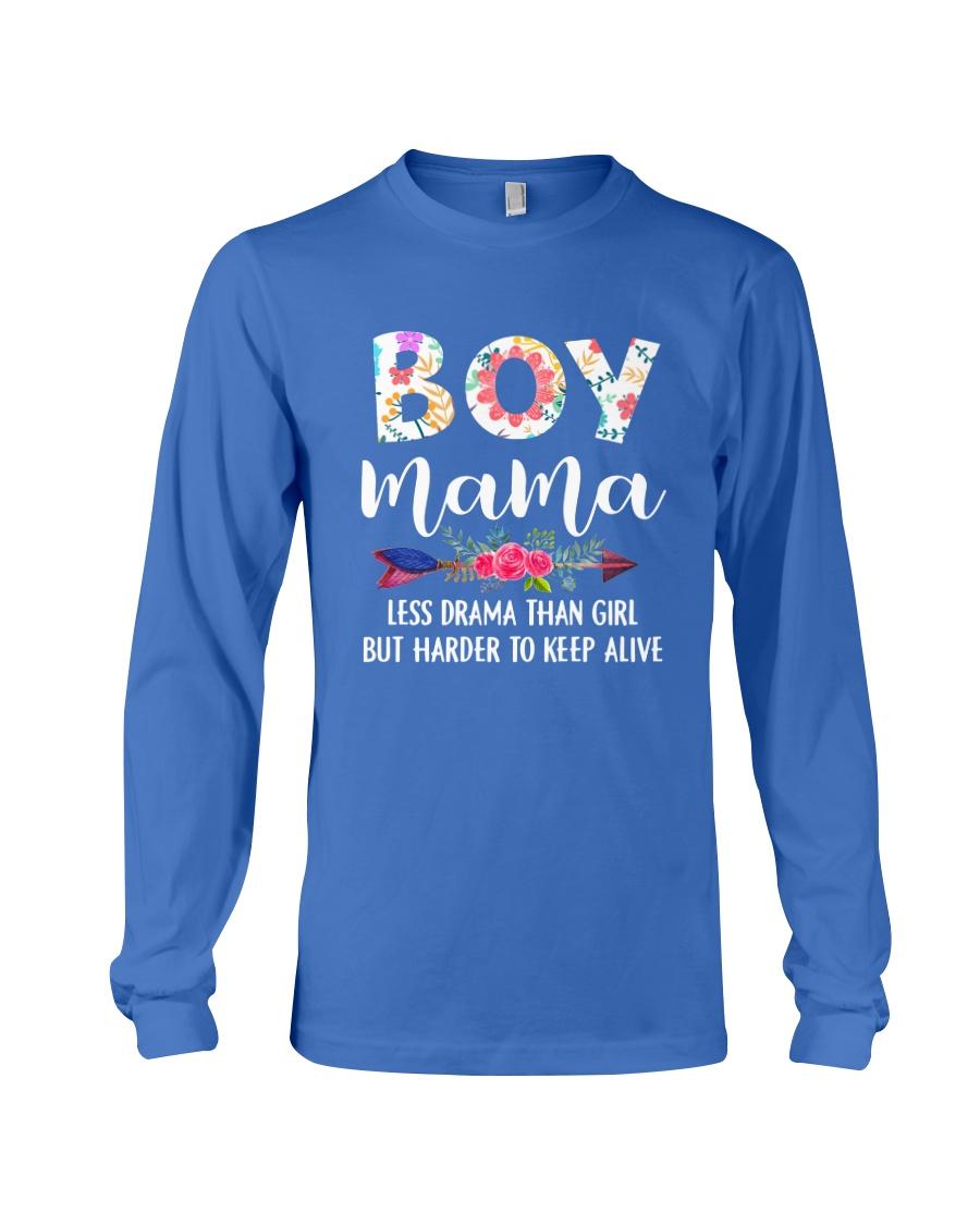 Boy Mama Long Sleeve Tee