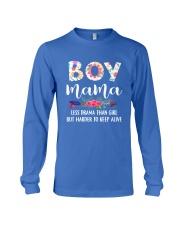 Boy Mama Long Sleeve Tee front