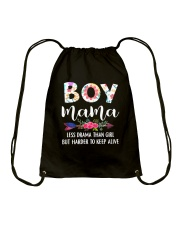 Boy Mama Drawstring Bag thumbnail