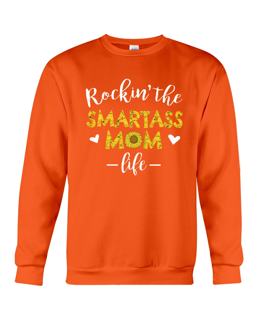 Smartass Mom Crewneck Sweatshirt