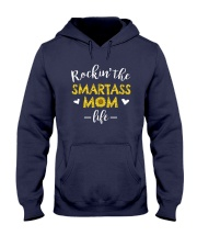 Smartass Mom Hooded Sweatshirt thumbnail