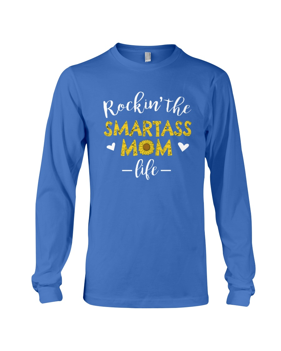 Smartass Mom Long Sleeve Tee