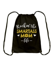 Smartass Mom Drawstring Bag thumbnail