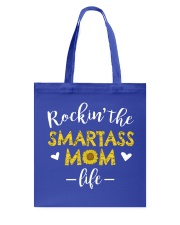 Smartass Mom Tote Bag thumbnail