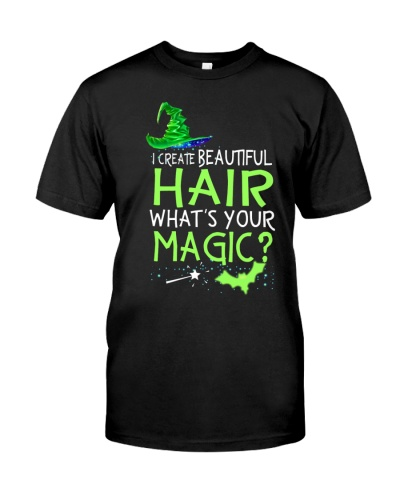 I create beautiful hair - What's your magic