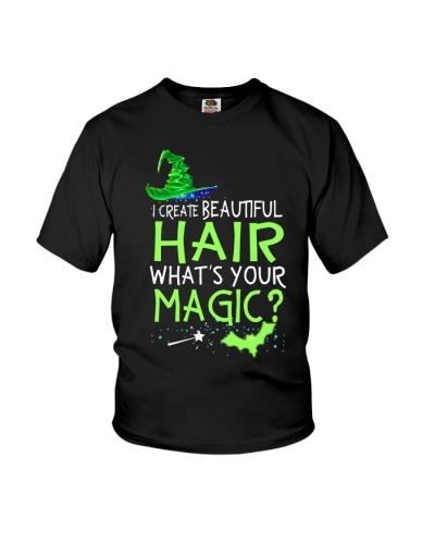 I create beautiful hair - What's your magic