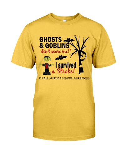 Ghosts Goblins don't scare me -I survived a Stroke