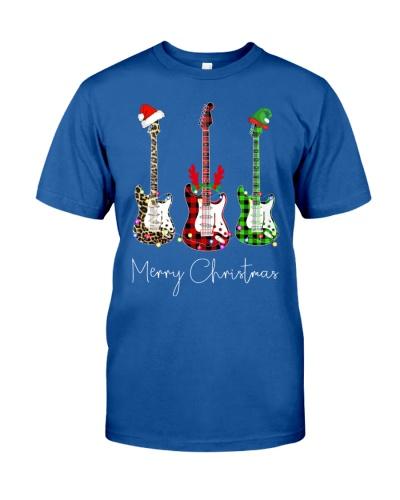 Merry Christmas Guitarist