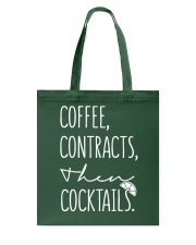 Coffee Contract Then Cocktails Tote Bag thumbnail