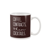 Coffee Contract Then Cocktails Mug thumbnail