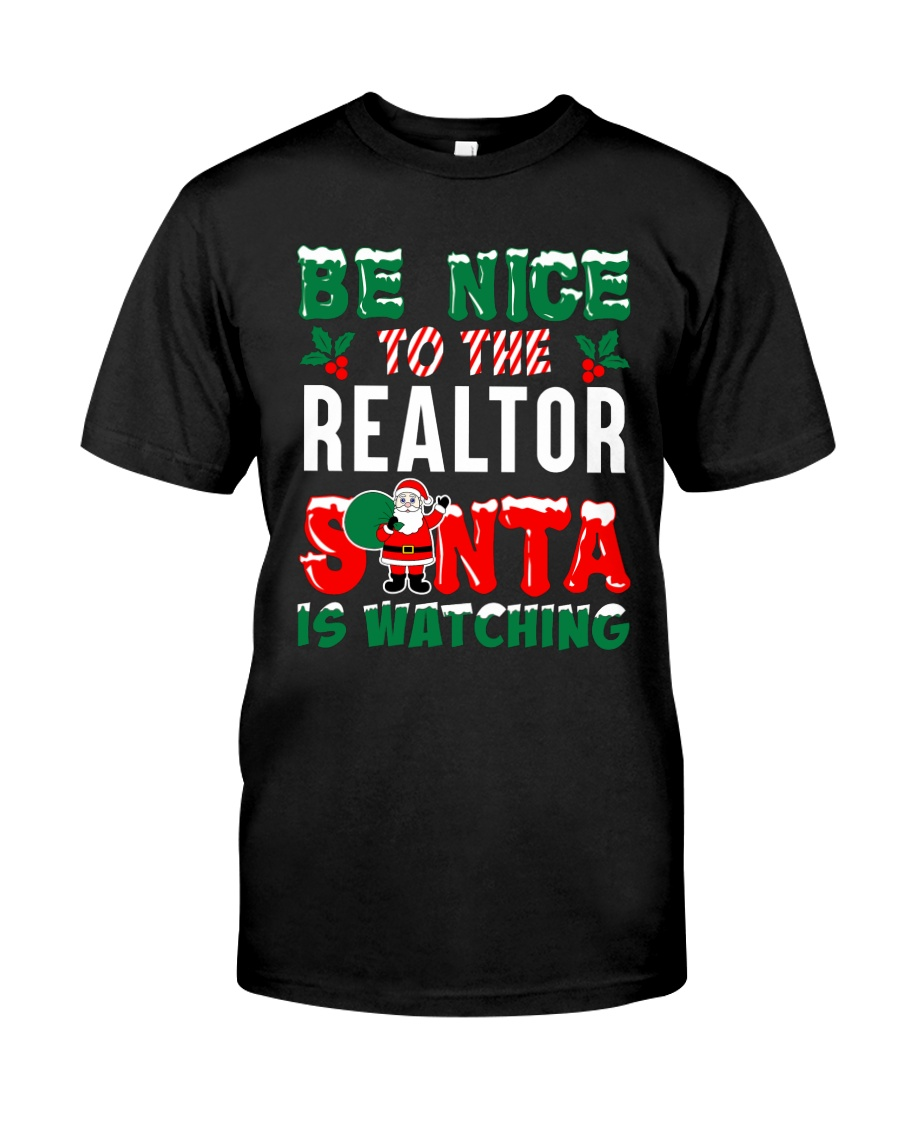 Be nice - Santa is watching Classic T-Shirt
