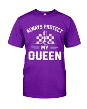 Always Protect My Queen Classic T-Shirt front