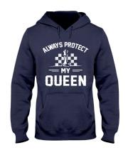Always Protect My Queen Hooded Sweatshirt thumbnail