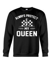 Always Protect My Queen Crewneck Sweatshirt thumbnail