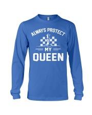 Always Protect My Queen Long Sleeve Tee front