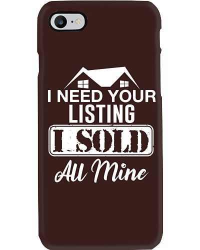 I need your listing - I sold all mine