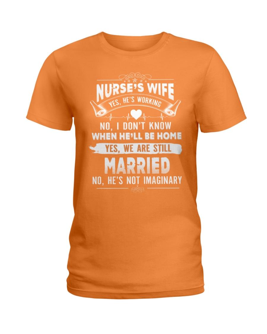 Nurse's Wife Ladies T-Shirt
