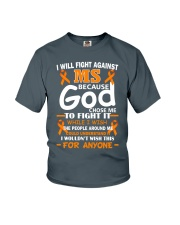 I will fight against MS Youth T-Shirt thumbnail