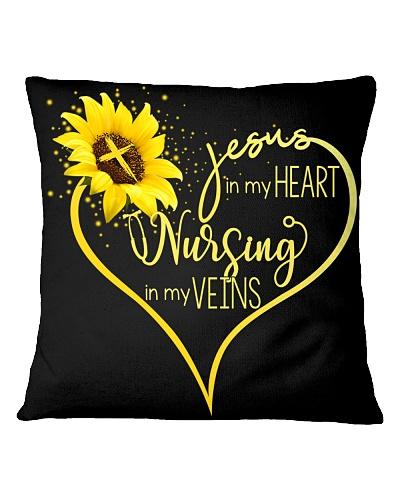 Jesus in my heart - Nursing in my veins