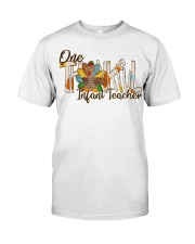 Infant Teacher Thanksgiving Classic T-Shirt thumbnail