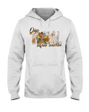 Infant Teacher Thanksgiving Hooded Sweatshirt thumbnail