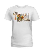 Infant Teacher Thanksgiving Ladies T-Shirt tile