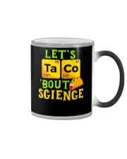 Lets Taco Bout Science Funny Pun Science Tsh Color Changing Mug thumbnail