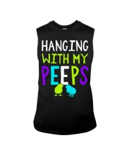 Hanging with my peeps funny easter t shirt Sleeveless Tee thumbnail