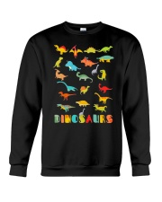 Dinosaur Tshirt Science Museum Teacher 20 Ju Crewneck Sweatshirt thumbnail
