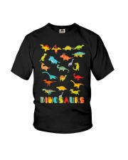 Dinosaur Tshirt Science Museum Teacher 20 Ju Youth T-Shirt tile