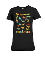 Dinosaur Tshirt Science Museum Teacher 20 Ju Premium Fit Ladies Tee thumbnail