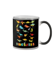 Dinosaur Tshirt Science Museum Teacher 20 Ju Color Changing Mug thumbnail