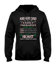 Let there be family therapist Hooded Sweatshirt thumbnail