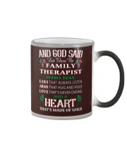 Let there be family therapist Color Changing Mug thumbnail