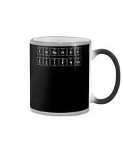 Forensic Science Periodic Table Tshirt Black Color Changing Mug thumbnail