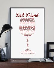 Perfect poster for best friend best sister 11x17 Poster lifestyle-poster-2