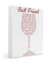 Perfect poster for best friend best sister 11x14 Gallery Wrapped Canvas Prints thumbnail