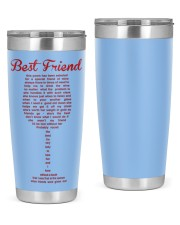 Perfect poster for best friend best sister 20oz Tumbler thumbnail