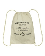Perfect gift for best friend best sister Drawstring Bag thumbnail