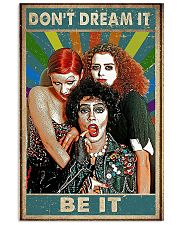 Don't dream it be it poster 11x17 Poster front
