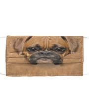 Boxer Dog Cloth Face Mask Cloth face mask front
