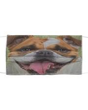 Bulldog Cloth Face Mask Cloth face mask front