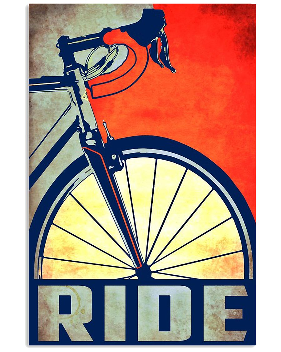 Bicycle ride poster 11x17 Poster