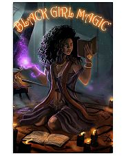 Witch black girl magic poster 11x17 Poster front