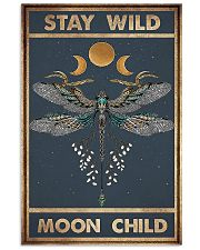 Dragonfly stay wild moon child poster 11x17 Poster front