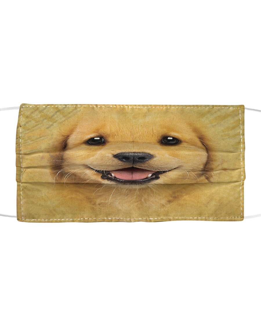 Golden Retriever Puppy Cloth Face Mask Cloth face mask