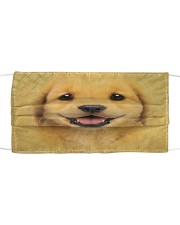 Golden Retriever Puppy Cloth Face Mask Cloth face mask front